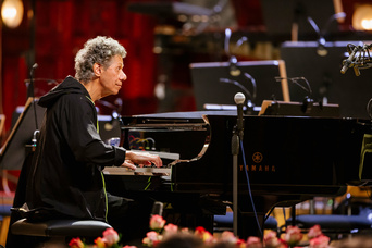 2. fotografie koncertu The Chick Corea Akoustic Band s ČNSO