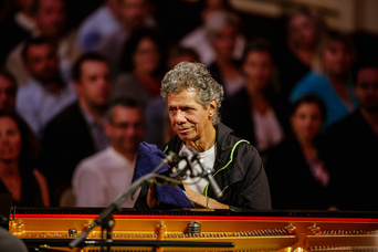 4. fotografie koncertu The Chick Corea Akoustic Band s ČNSO
